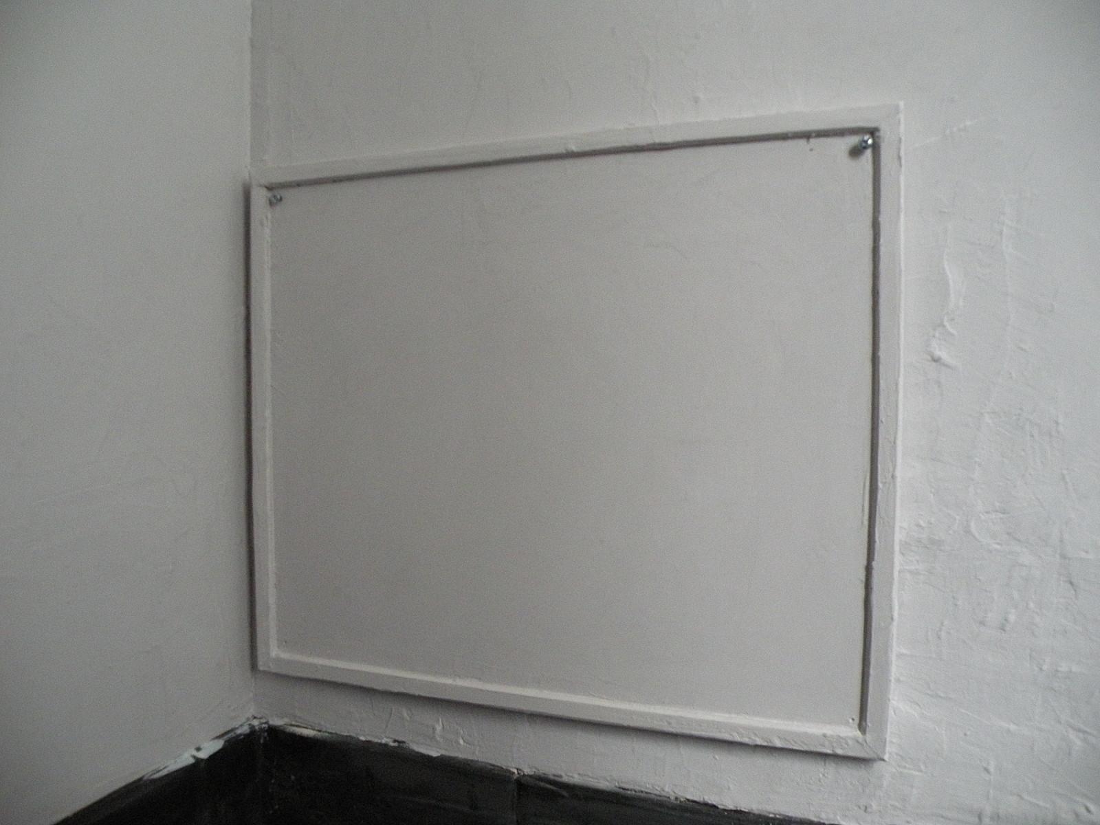 dans le r u00e9tro   les murs de la salle de bain
