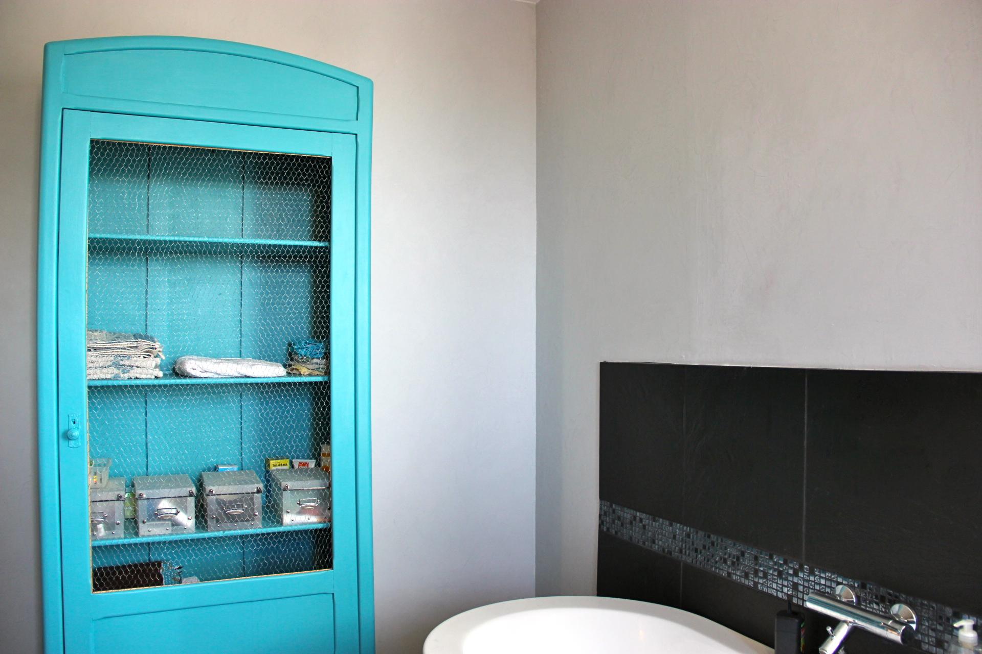 Toilettes for Poncer une porte