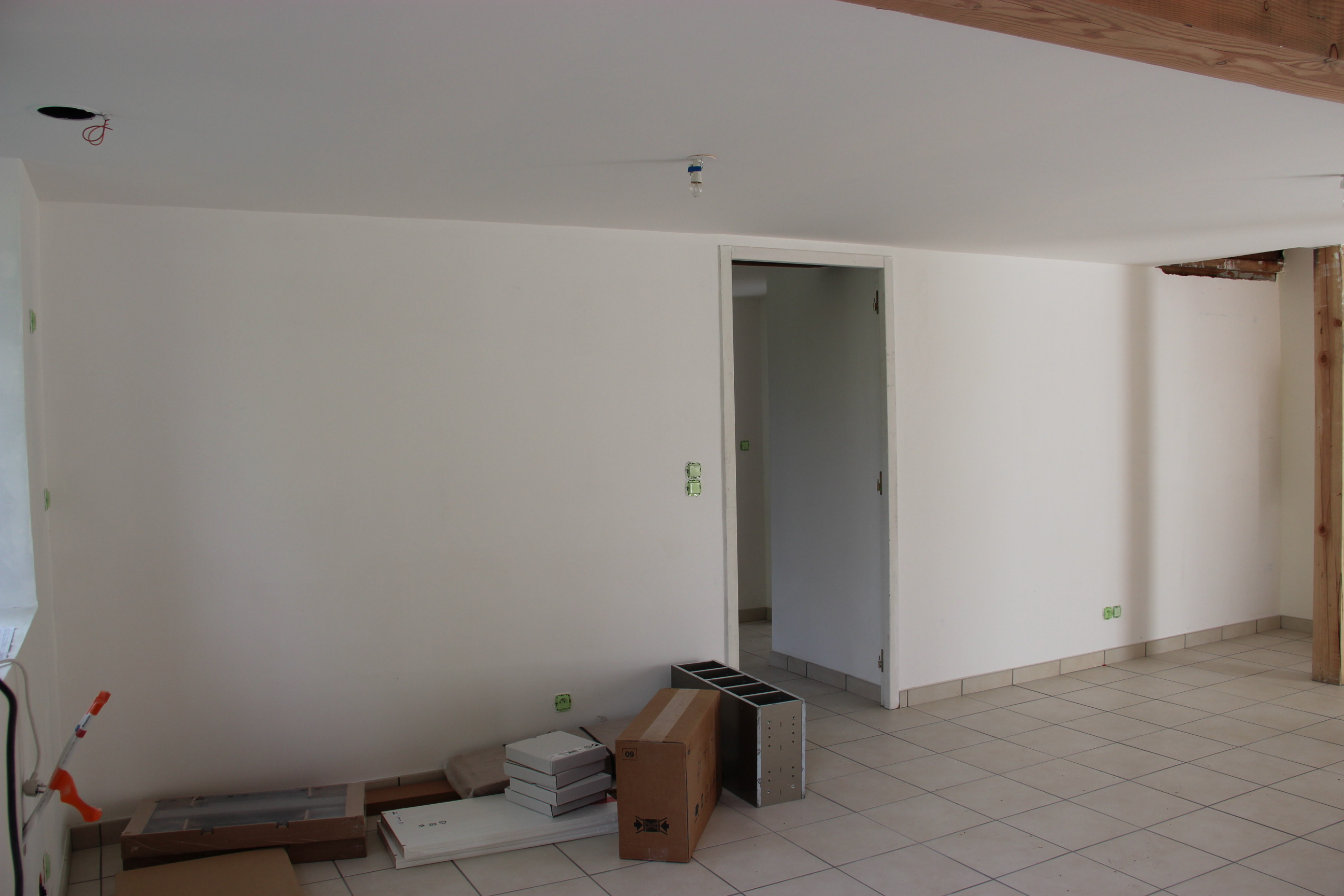 Murs ivoire et cuisine voir - Protege mur cuisine ...