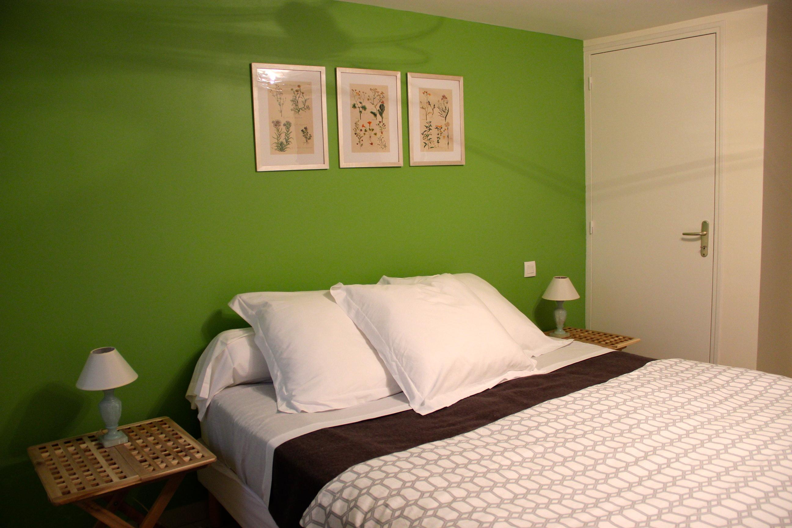 Chambre Au Vert Eau : Se mettre au vert