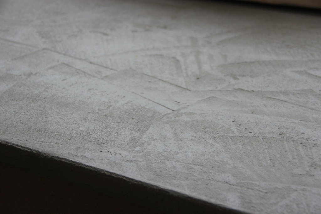Des ennuis en b ton - Fabriquer un plan de travail en beton ...