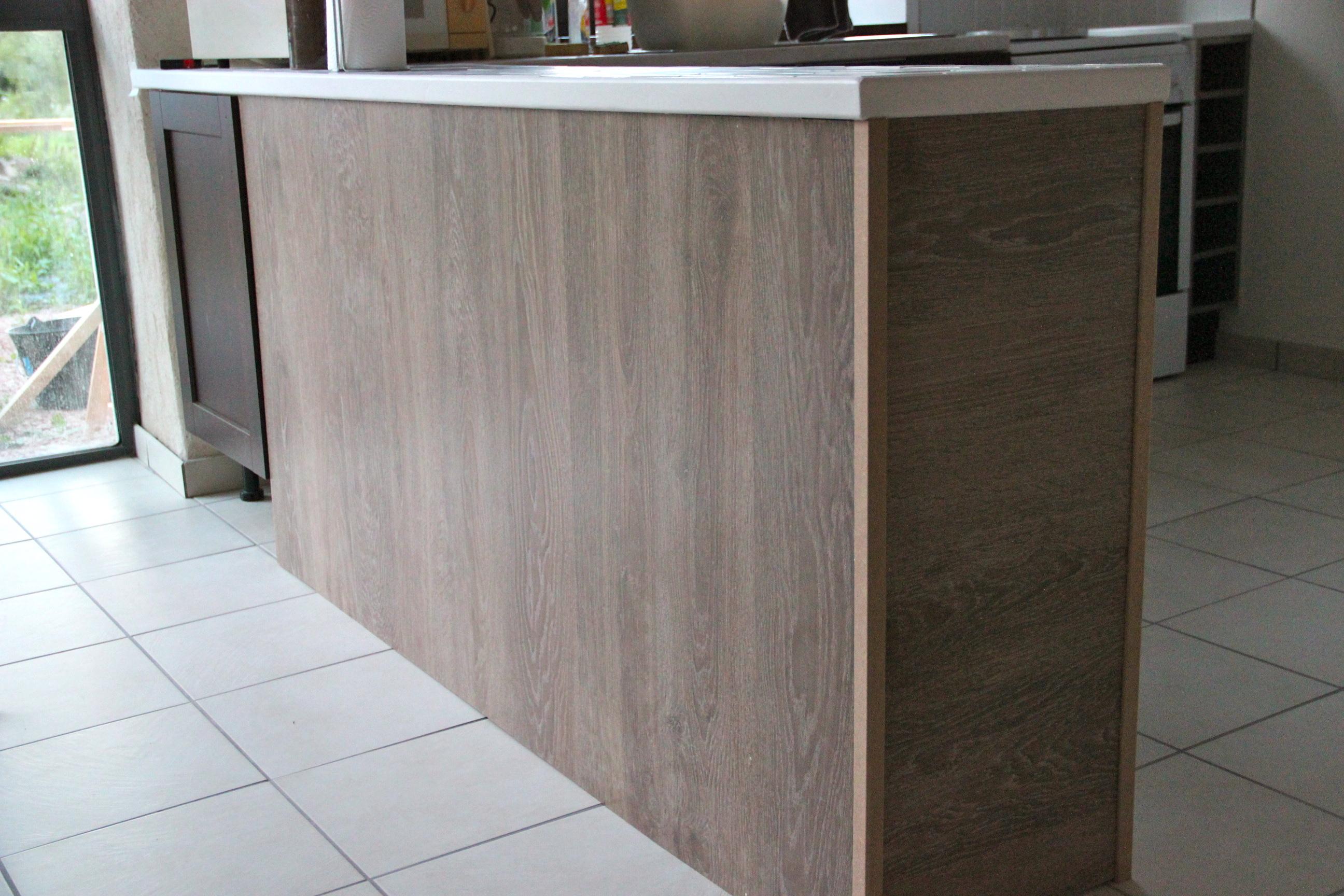 Habiller L Arrière D Un Meuble habillage meuble cuisine