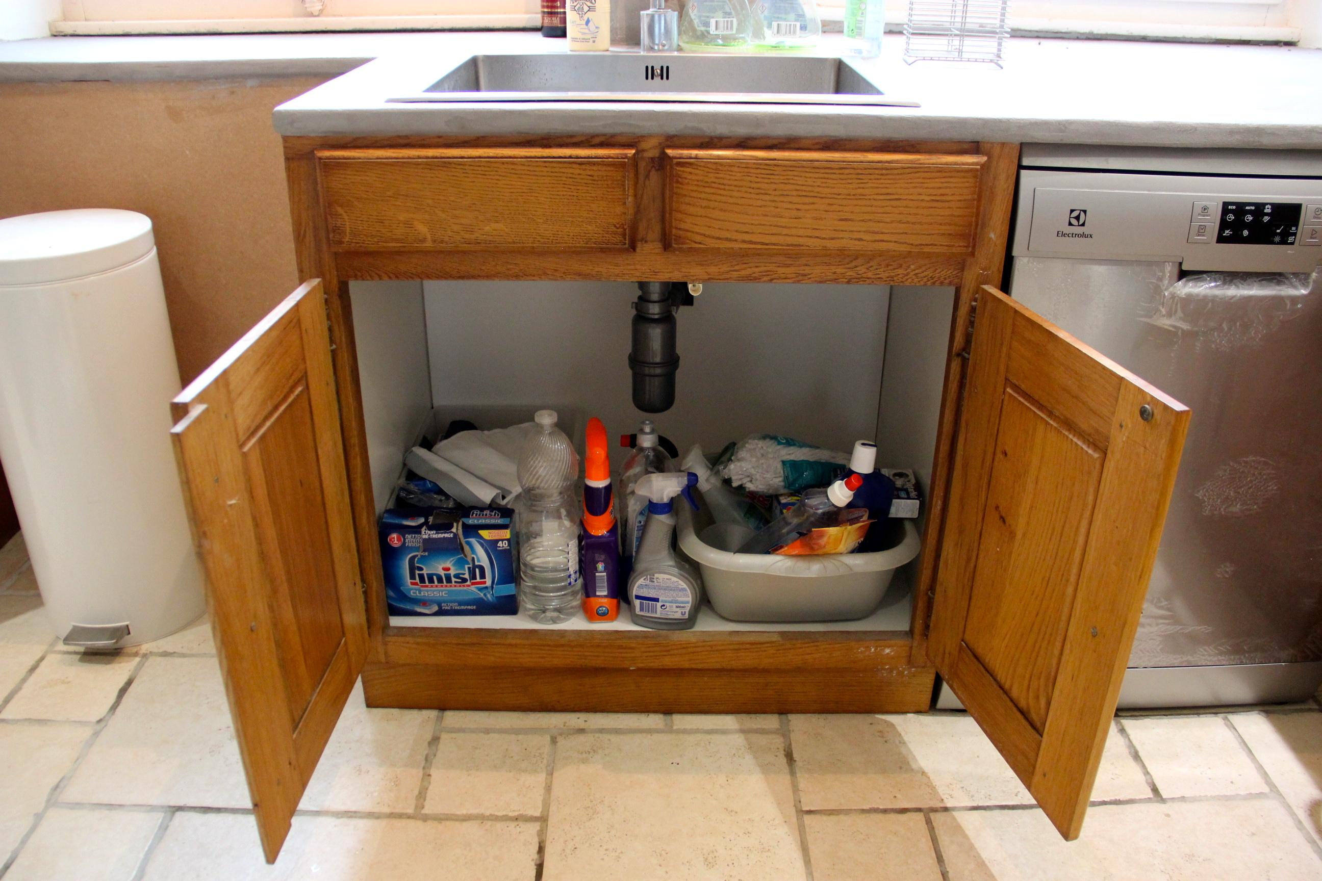 Organiser Meuble Sous Evier cuisine : organiser sous l'évier |